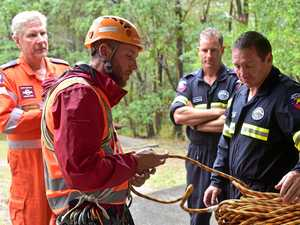 Recuers head to mountain for real 'dummy' of a bushwalker