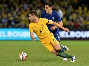 'We're here to win it,' says Socceroos star