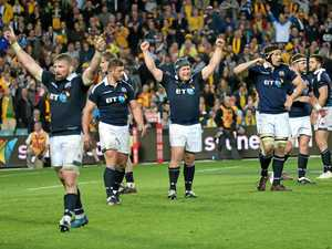 VIDEO: Brave Scots hold off Wallabies in thriller