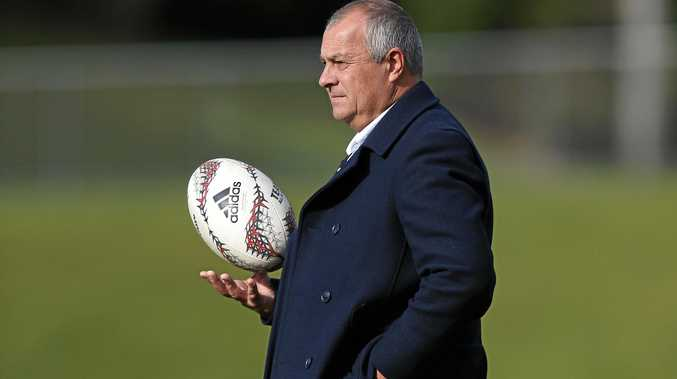 Wallaroos coach Paul Verrell.