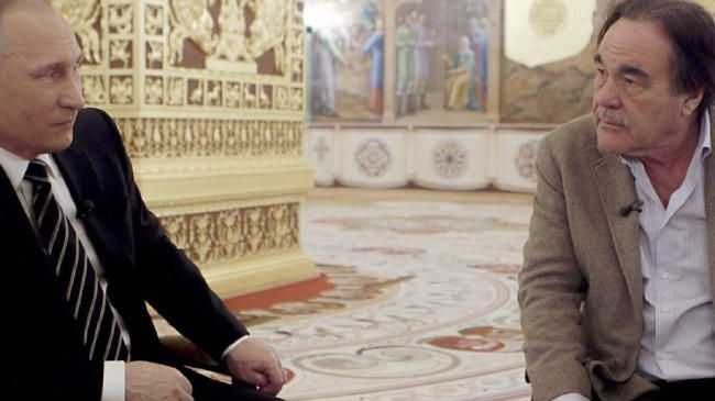 Oliver Stone and Vladimir Putin — 'The Putin Interviews'.