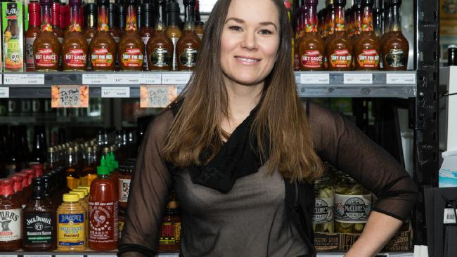 Renae Bunster founded Bunsters Hot Sauce in 2015.
