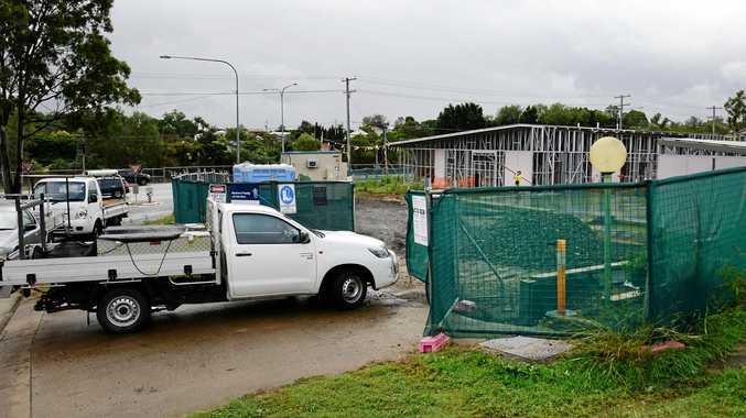 BACK TO WORK: A new contractor has been appointed on the Bundamba Fire Station project and construction has restarted.