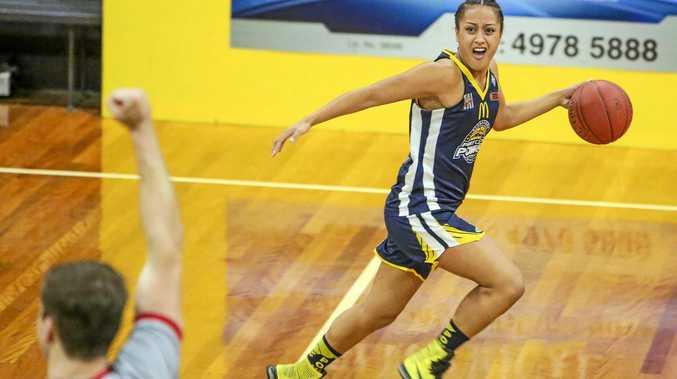 CONSISTENT: Power's Kayla Kiriau was a dynamo with 18 points.