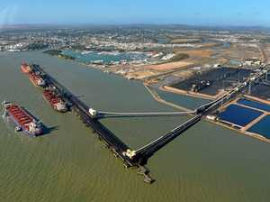 Conveyor catches fire at Gladstone Port terminal overnight
