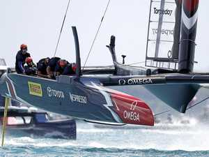 Kiwis lay down challenge in America's Cup