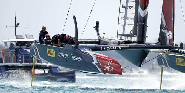 Emirates Team New Zealand has stretched its lead in the America's Cup.