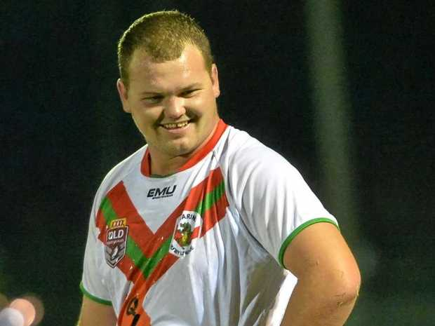 Sarina Crocodiles prop Jake Wyper happy with their win over Norths Devils at Ray Edwards Oval on Saturday night.