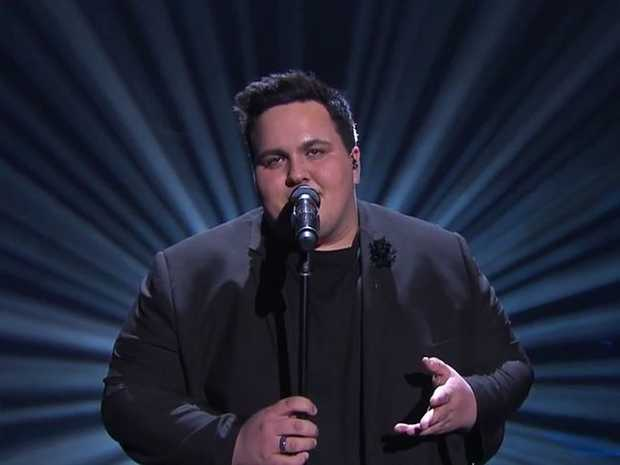 Judah Kelly performs a Sam Smith hit on The Voice.