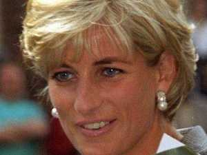 Princess Diana meets bushfire survivor