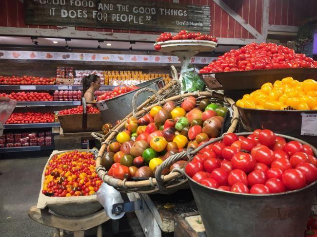 Harris Farm Markets in Bondi Junction boasts 25 different tomato varieties.