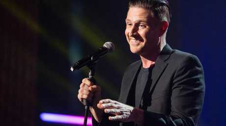 Wil Anderson's show went ahead despite the incident.