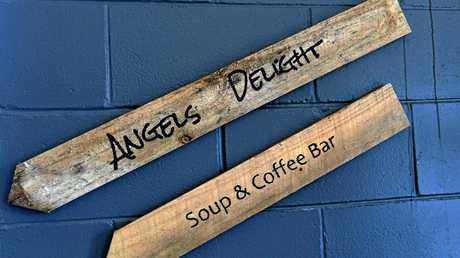 Angels Delight Soup and Coffee Bar.