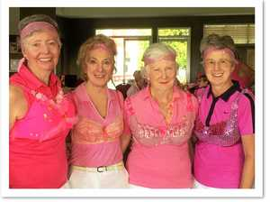 Noosa golfers tee off for breast cancer