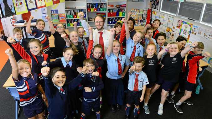 The Springfield Anglican College teacher Jon Cox has been nominated for teacher of the year.