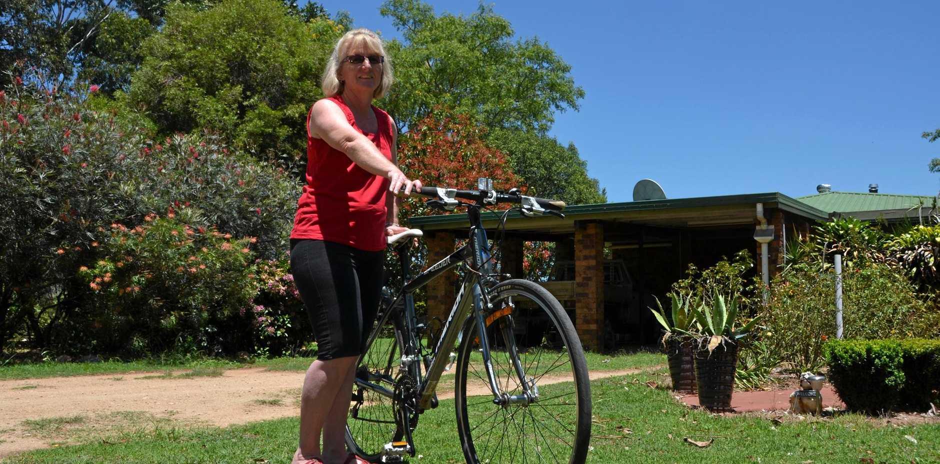 Josie Potter completed her seventh Brissie to Bay bike ride on Sunday.