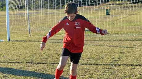 Ethan Van Kerkwyk wants to play Soccer in Europe when he's older.