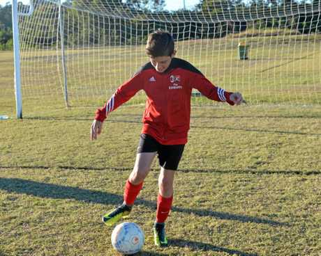 Ethan Van Kerkwyk wants to play Soccer in Europe when he's older.