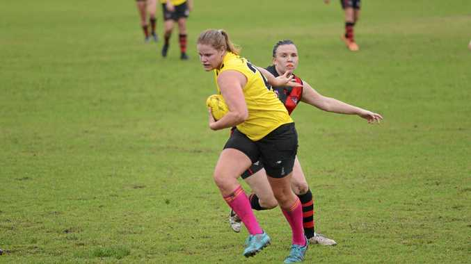 TRAIL BLAZERS: The first women's AFL match to be played in the region saw a North Coast team fall narrowly to Ballina.