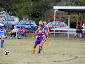 Nanango Panthers Vs Kingaroy Gunners June 17, 2017.