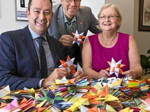 Toowoomba creates 25,000 stars to end violence
