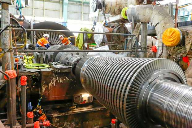 UPDATE: Two new rotors are being installed at the Gladstone Power Station, to replace equipment used since it was built in 1976.