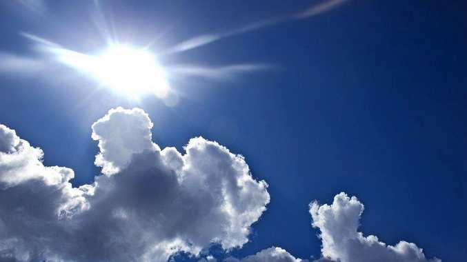 BLUE SKIES: Clouds expected to part and make way for sun rays from tomorrow.