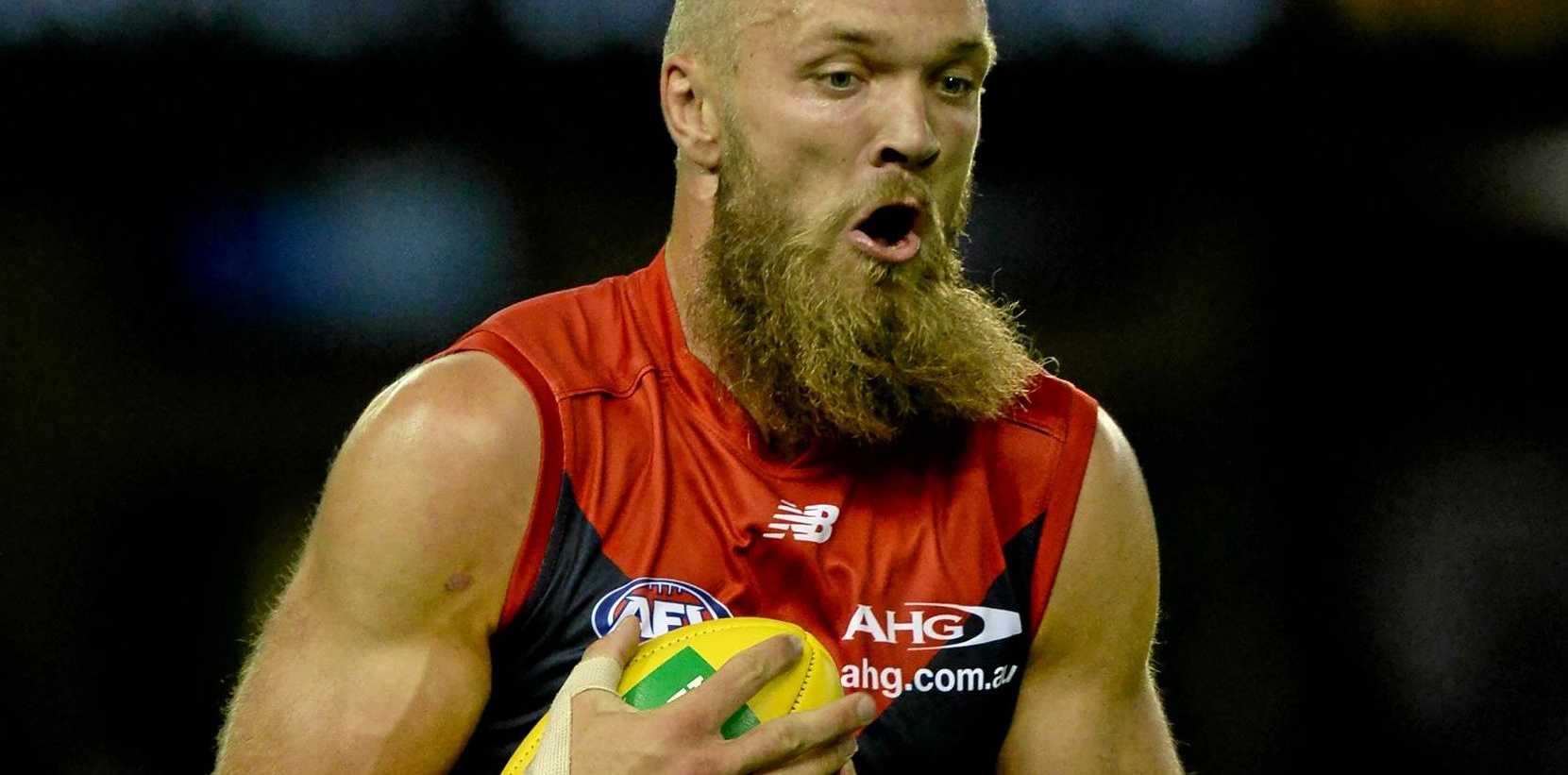 Max Gawn is ready to play again after a hamstring injury.