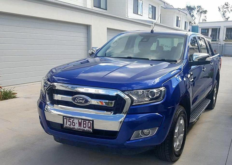 A Ford Ranger dual cab ute was stolen from Burpengary.