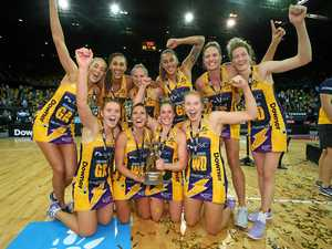 The Sunshine Coast Lightning won the inaugural Super Netball grand final against the Giants on Saturday.