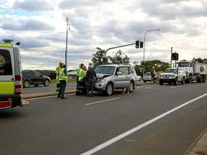 Four vehicles caught up in Gympie accident