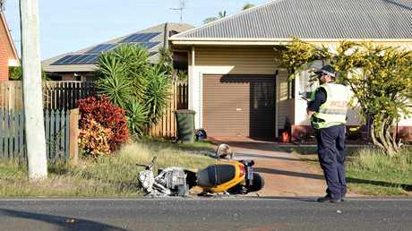 The scene of the Kalkie crash in 2016.