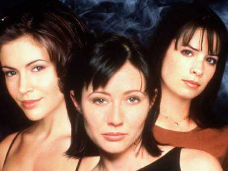 Alyssa Milano starred in hit show Charmed.