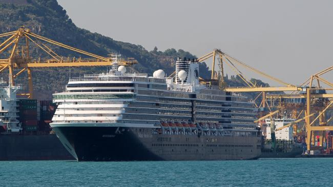 Clive Palmer, his family, friends and employees are on the Cruise Ship, Holland America.