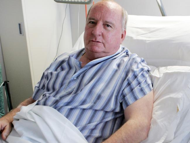 Alan Jones said he began to feel better around Thursday.