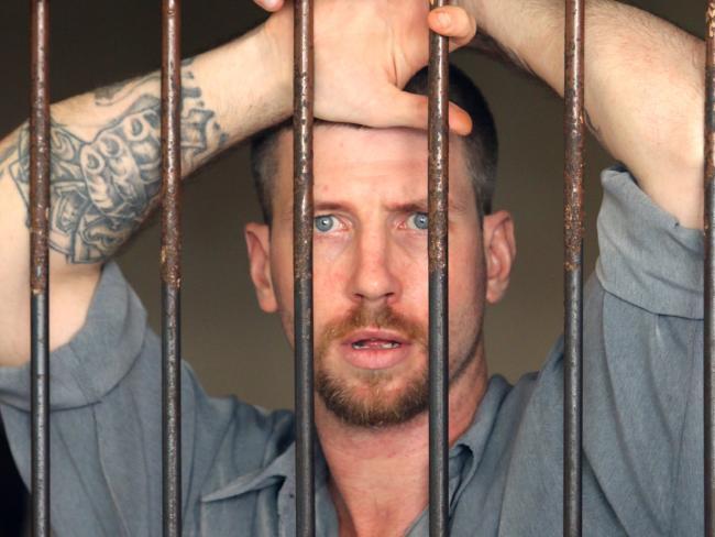 Australian Shaun Edward Davidson, 31, was among the escapees.
