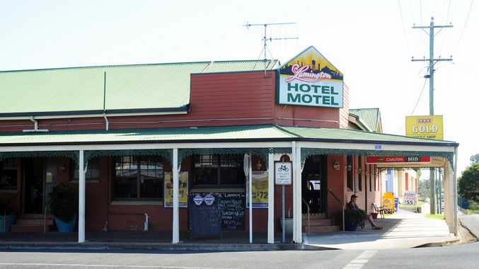 The Lamington Hotel Motel, Maryborough. Photo: Valerie Horton / Fraser Coast Chronicle