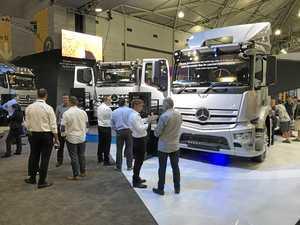 Benz's all-new heavy rigids