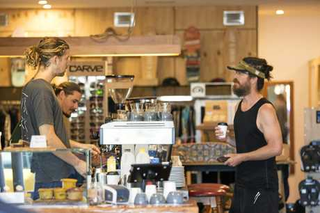 Compound Secondhand Surf and Espresso is a non-for-profit surf shop and café in Coolum helping raise money for Christian Surfers Australia.