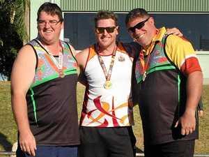 World-class Ipswich athlete hits motivational wall