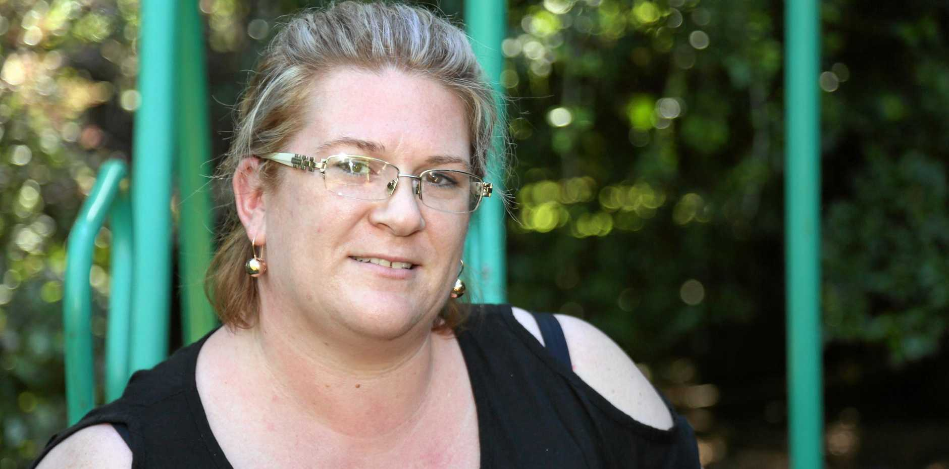 Childers mother Larissa Watson is looking forward to further improvements thanks to the NDIS