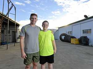 'Huge difference': Aidan finds his fitness calling