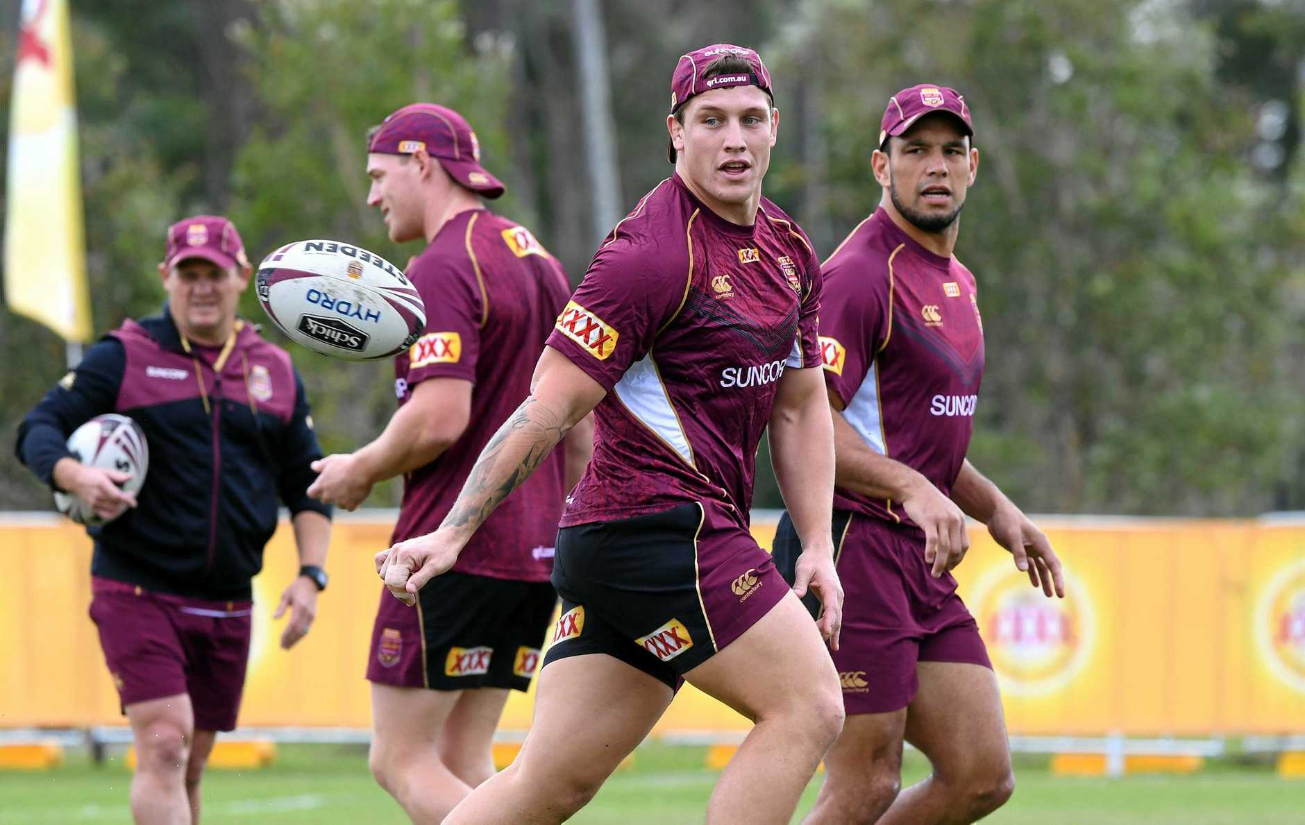 DESERVED CALL-UP: Maroons debutant Jarrod Wallace has done a great job for the Titans since leaving the Broncos.