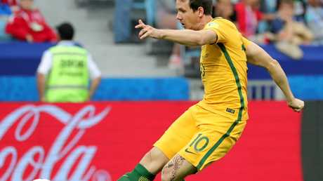 Robbie Kruse made a difference to the Australian attack when he came on midway through the clash against Germany.