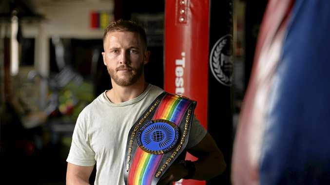 Toowoomba boxer Kris George has had the rug pulled on his dream to defend his Commonwealth title belt in England.