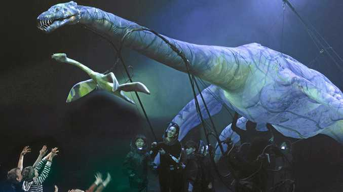 UNIQUE SHOW: Unlock some of nature's greatest mysteries with Erth's Prehistoric Aquarium, which is on at the Empire Theatre on Friday and Saturday.