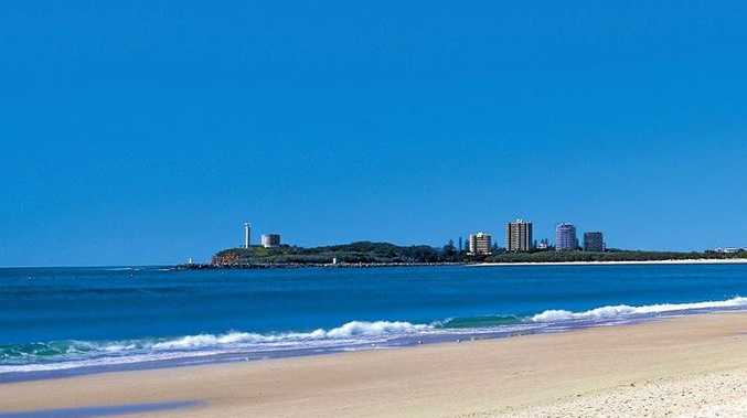 Beautiful Mooloolaba, no wonder people want to come here.