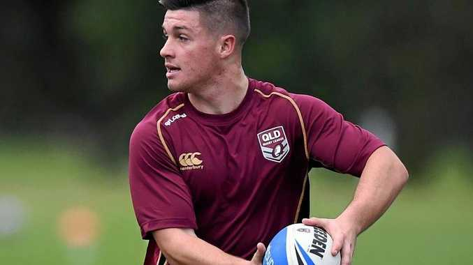 FINE TUNING: Toowoomba's Cory Paix trains with the Queensland under 18 team ahead of their game against New South Wales.