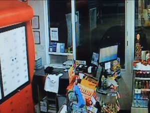 Armed robbery at Bundaberg service station