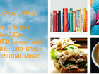 Books & Food Trucks meet for USQ Bookcase